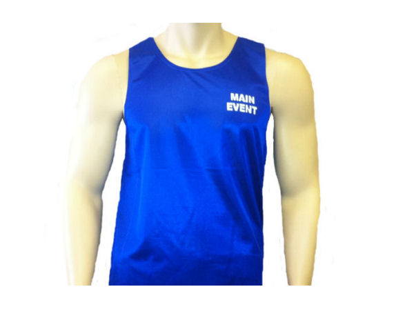 Main Event Boxing Club Vest - Blue