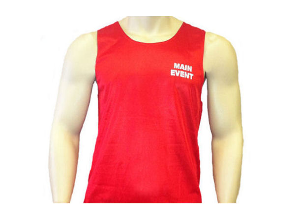 Main Event Boxing Club Vest - Red