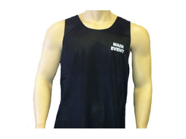 Main Event Boxing Club Vest - Black