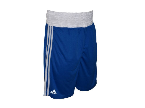 Adidas Base Punch MK2 II Climalite Boxing Shorts - Blue White