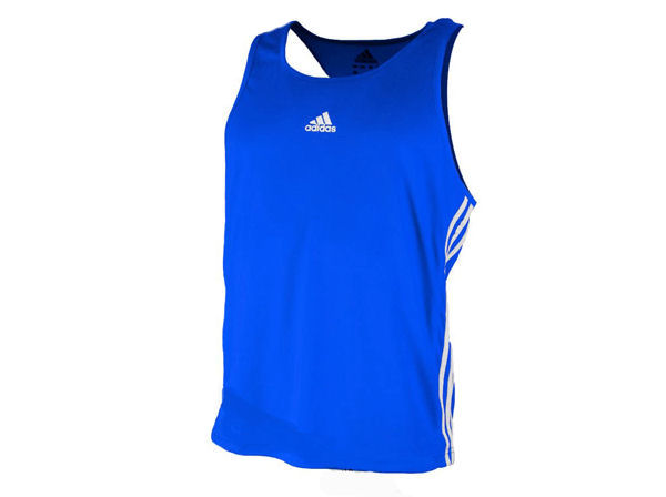 Adidas Base Punch MK2 II Climalite Boxing Vest - Blue