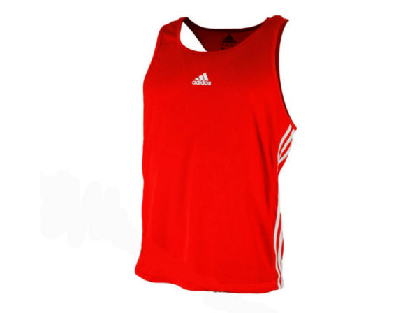 Adidas Base Punch MK2 II Climalite Boxing Vest - Red