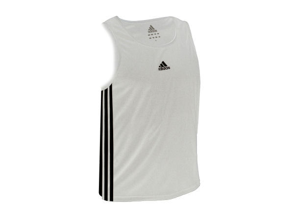 Adidas Base Punch MK2 II Climalite Boxing Vest - White
