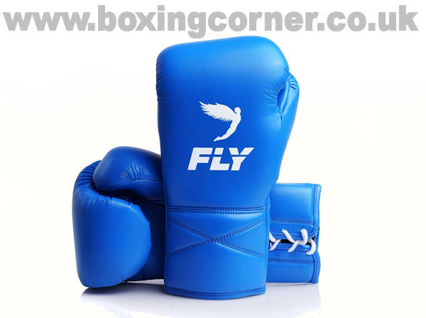 Fly Superlace X Boxing Gloves Blue