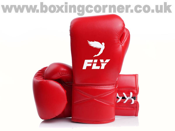 Fly Superlace X Boxing Gloves Red