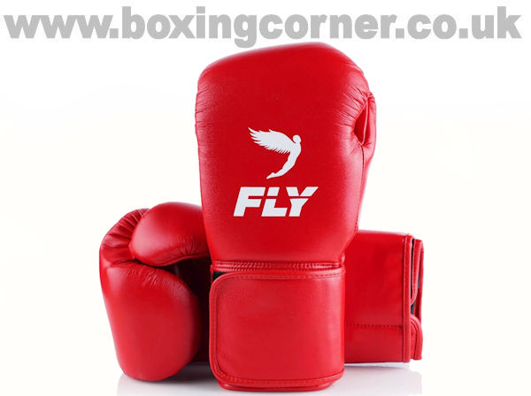 Fly Superloop X Boxing Gloves Red