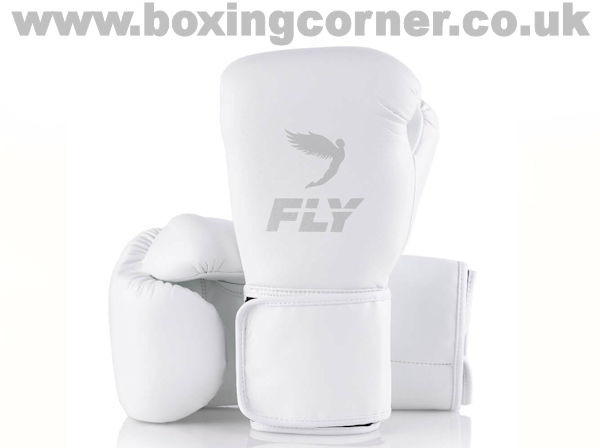 Fly Superloop X Boxing Gloves White