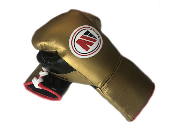 Main Event Boxing PFG 4000 Elite Pro Fight Gloves Gold Black