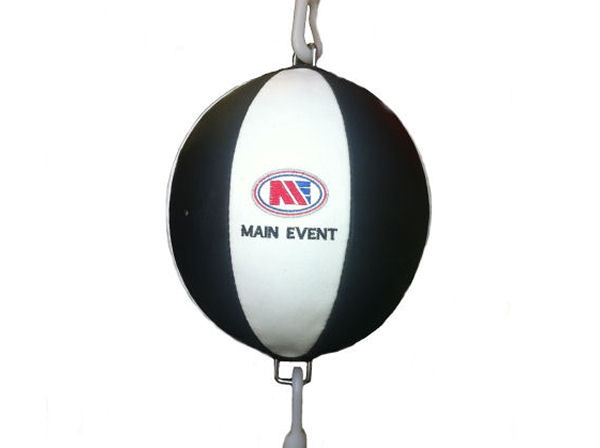 "Main Event Leather Floor to Ceiling Ball Kit 9"" Double End Bag"