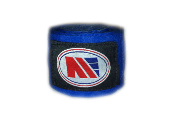 Main Event Boxing Pro - Stretch 2.5m Hand Wraps - Blue