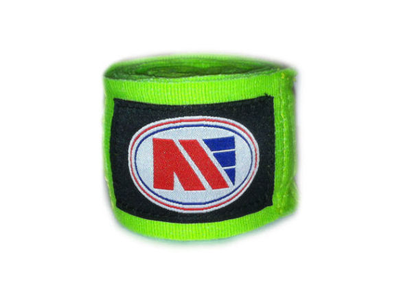 Main Event Boxing Pro - Stretch 2.5m Hand Wraps - Green