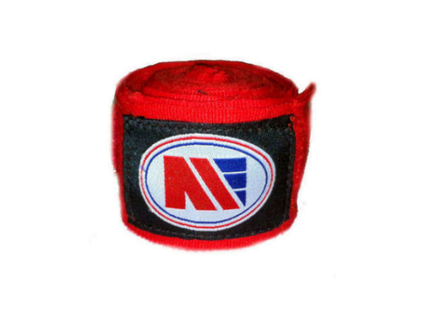 Main Event Boxing Pro - Stretch 2.5m Hand Wraps - Red