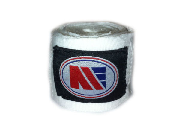 Main Event Boxing Pro - Stretch 2.5m Hand Wraps - White