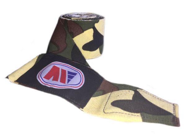 Main Event Boxing Pro Stretch 2.5m Hand Wraps - Camo Camouflage