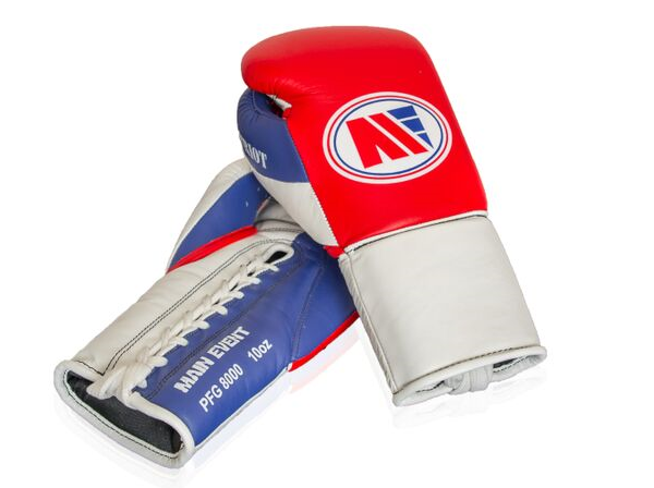 Main Event Boxing Patriot PFG 8000  Pro Fight Gloves Red Top