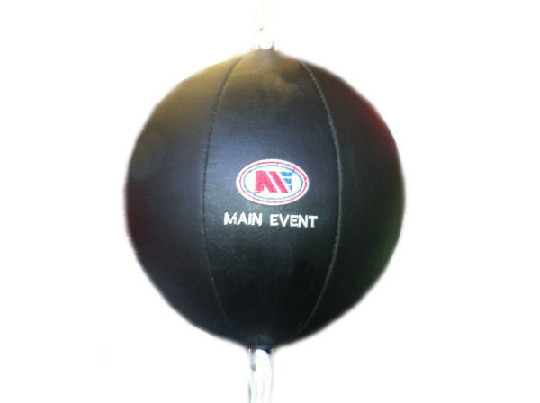"""Shiv Naresh Teens Boxing Gloves 12oz: Main Event Leather Floor To Ceiling Ball Kit 10"""" Double"""