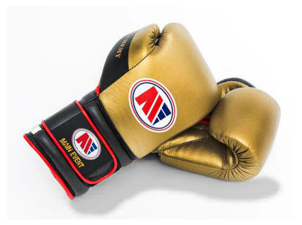 Main Event Boxing Alchemy Pro Spar Gloves - Gold Top - Velcro
