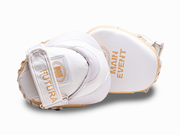 Main Event Boxing Leather Futura Gel Speed Focus Pads Mitts