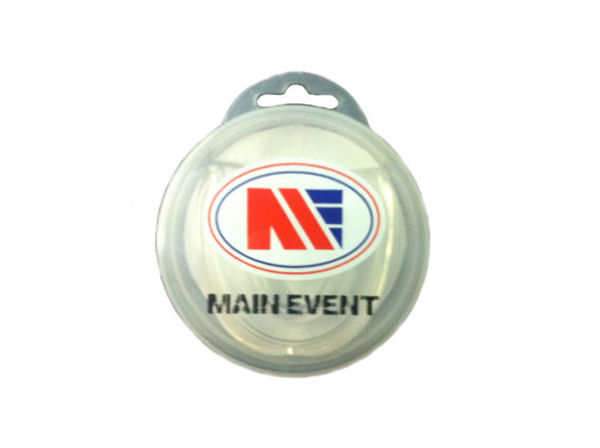 Main Event Boxing Single Gumshield Mouthguard - Clear With Case