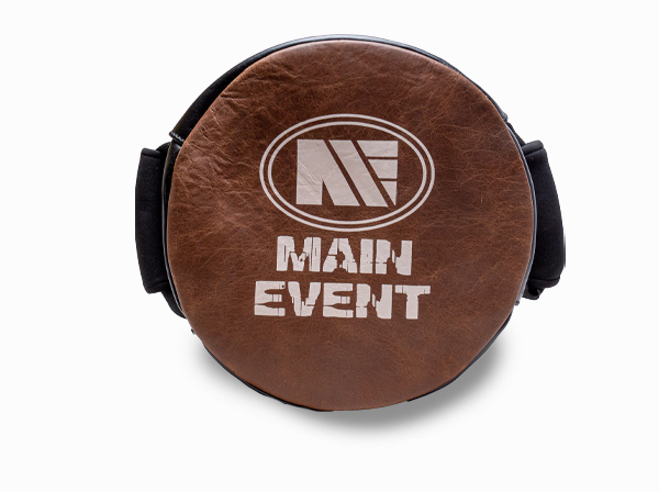 Main Event Heritage Leather Coaches Round Speed Pad