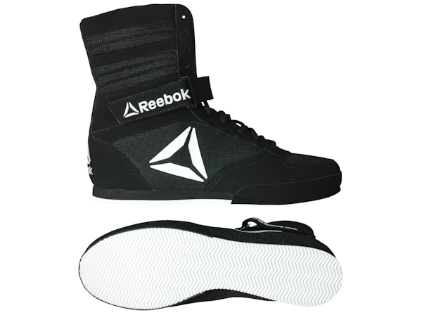 Reebok Performance Boxing Boots Black White
