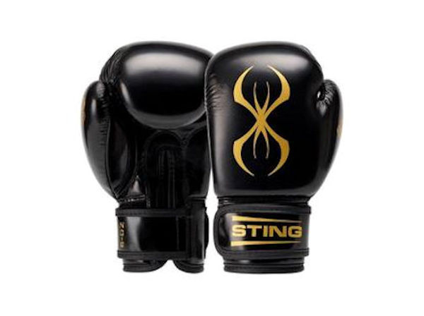 Sting Boxing Arma Junior Kids 6oz Training Gloves Black Gold