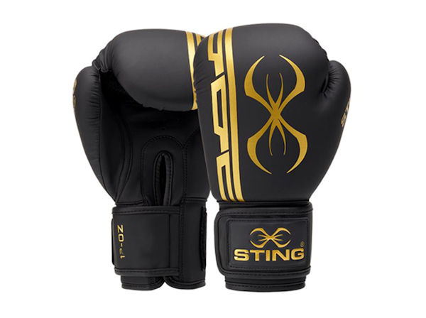 Sting Boxing Armaplus 10oz Lightweight Training Glove Black Gold
