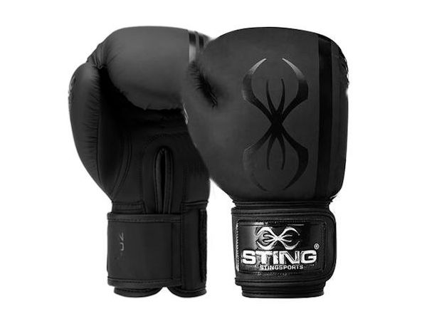 Sting Boxing Armaplus 10oz Lightweight Training Glove Matt Black