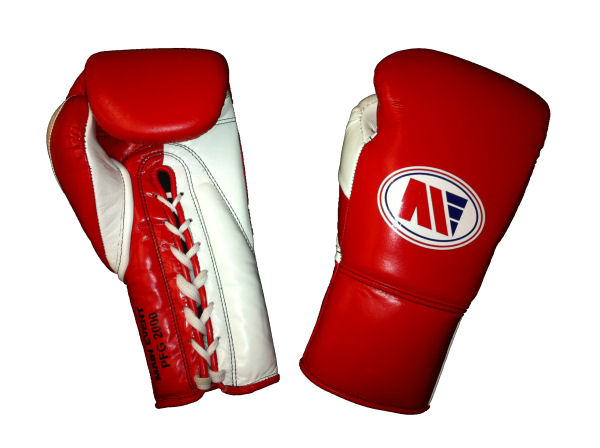 Main Event Boxing Pro Fight PFG 2000 Punchers Glove Red White