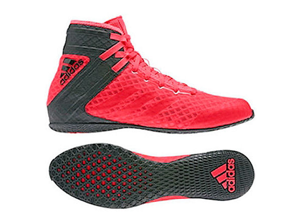 SALE - Adidas Speedex 16.1 Boxing Boots Black Red