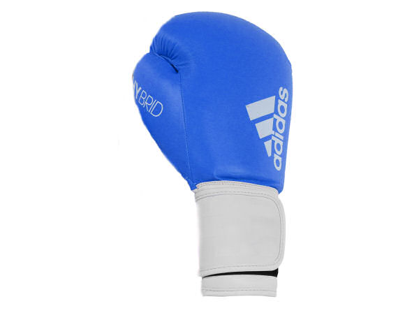 Adidas Hybrid 100 Boxing Gloves Box Fit Boxercise - Blue White