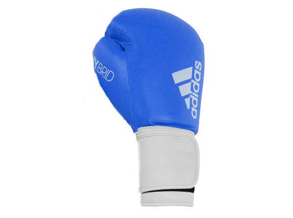 size 40 6e5cf dbe35 Adidas Hybrid 100 Boxing Gloves Box Fit Boxercise - Blue White