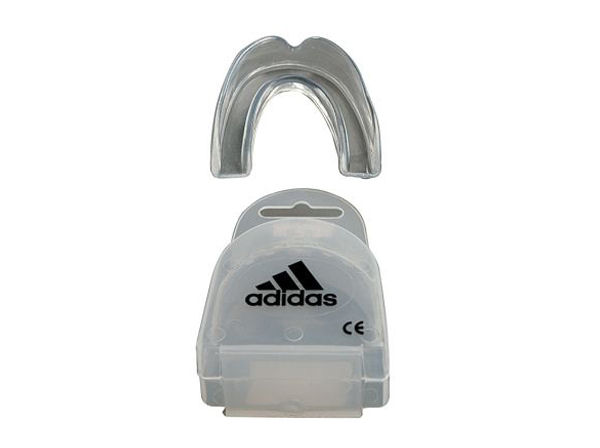 Adidas Boxing Single Gumshield Mouthguard - Clear With Case