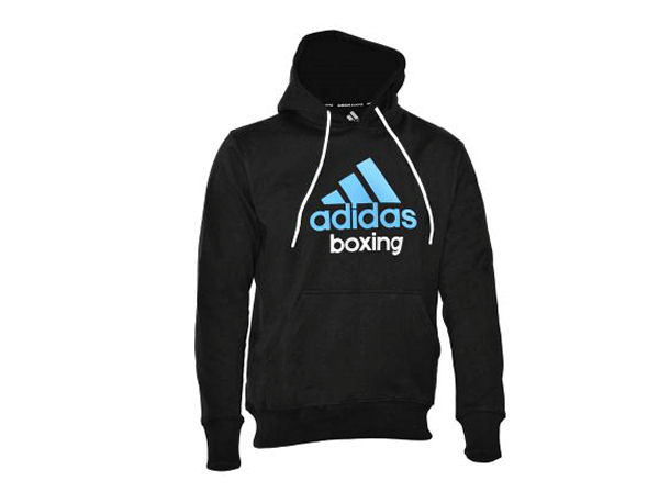 Adidas Boxing Hooded Top - Gym & Casual Hoody - Black