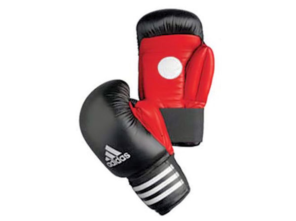 Adidas Boxing Instructor Coach Spar Gloves / Pads