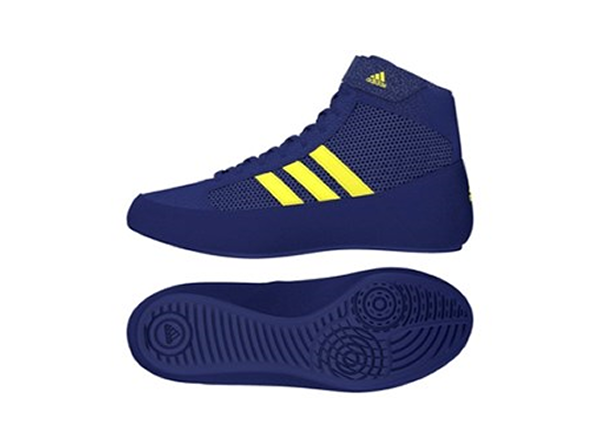 Adidas Havoc Boxing Wrestling Boots Mystery Blue Junior Kids