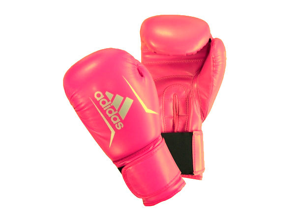 Adidas Hybrid Speed 50 Boxing Gloves Box Fit Boxercise - Pink