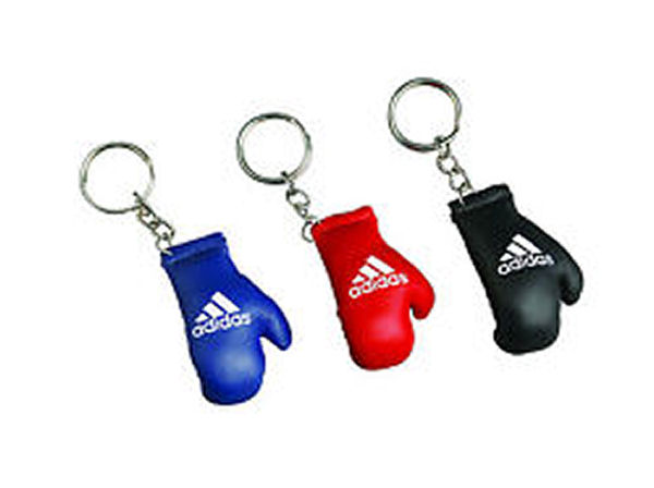 Adidas Keyring Replica Boxing Gloves - Black