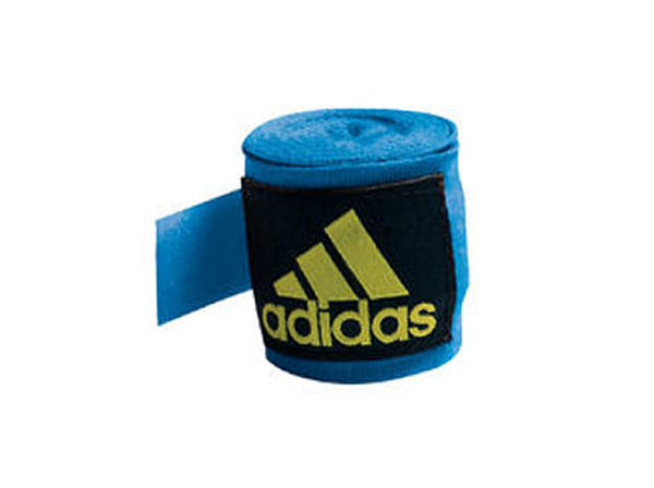 Shiv Naresh Teens Boxing Gloves 12oz: Adidas 2.5m Long Cotton Mix Hand Wraps EB ABA Approved
