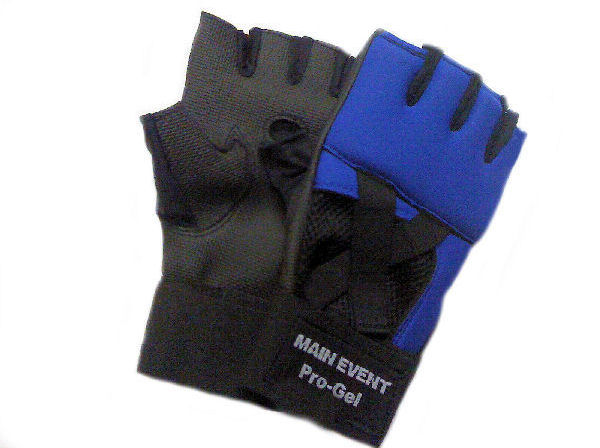 Main Event Pro - Gel Glove Wraps - Blue