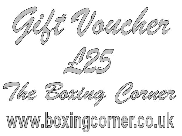 The Boxing Corner £25 GIFT VOUCHER