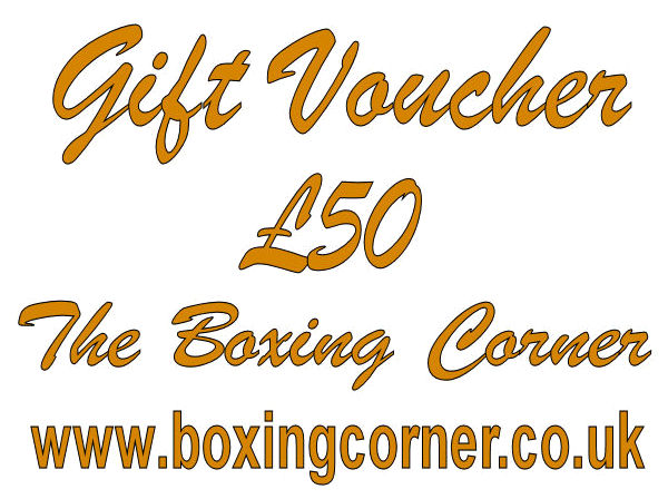 The Boxing Corner £50 GIFT VOUCHER