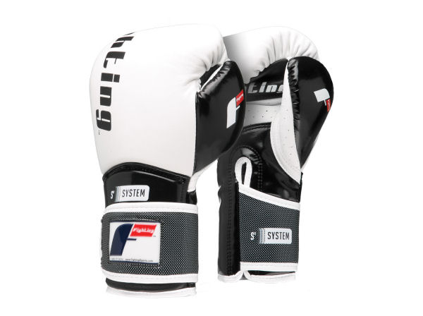 Fighting Sports S2 Gel Power Elite Pro Punch Bag Gloves - White