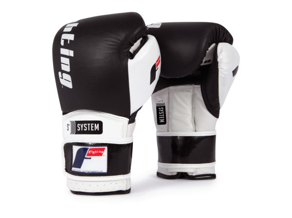Fighting Sports S2 Gel Power Elite Pro Sparring Gloves - Black