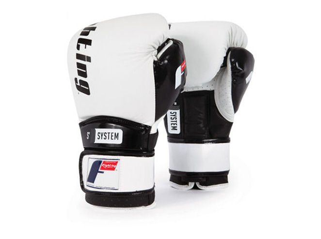 Fighting Sports S2 Gel Power Elite Pro Sparring Gloves - White