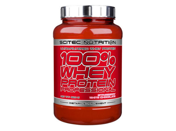 Scitec Nutrition 100% Whey Protein - Strawberry Flavour 920g