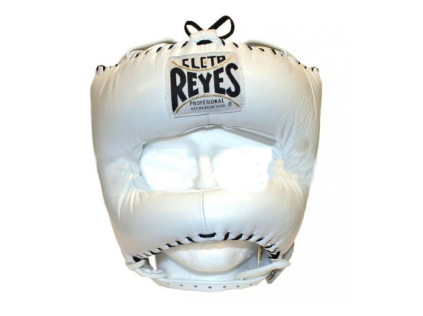 Cleto Reyes Traditional Pro Head Guard Pointed Nylon Bar White
