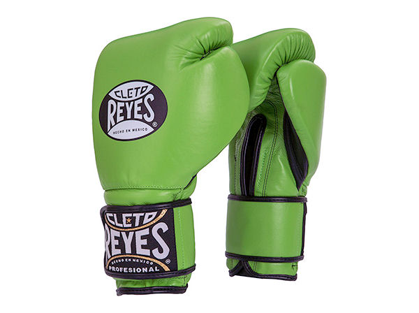 Cleto Reyes 12oz Velcro Pro Sparring Training Gloves Citrus