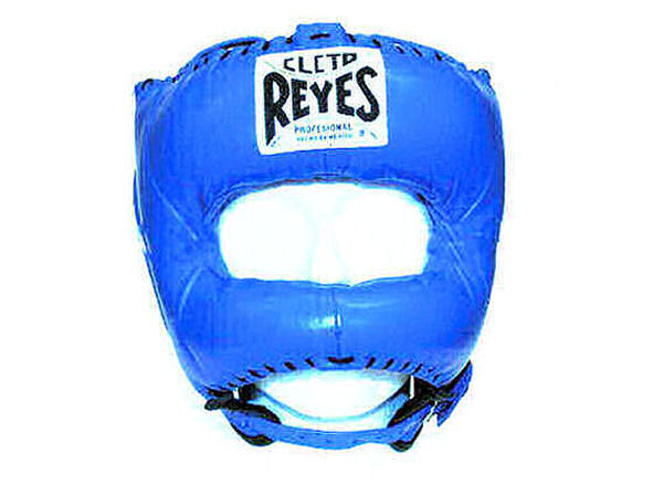 Cleto Reyes Traditional Pro Head Guard Pointed Nylon Bar Blue