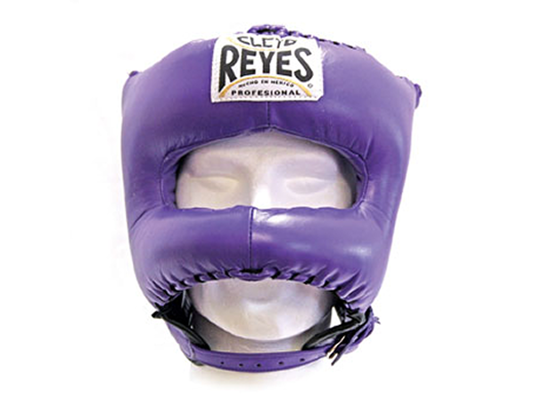 Cleto Reyes Traditional Pro Head Guard Pointed Nylon Bar Purple